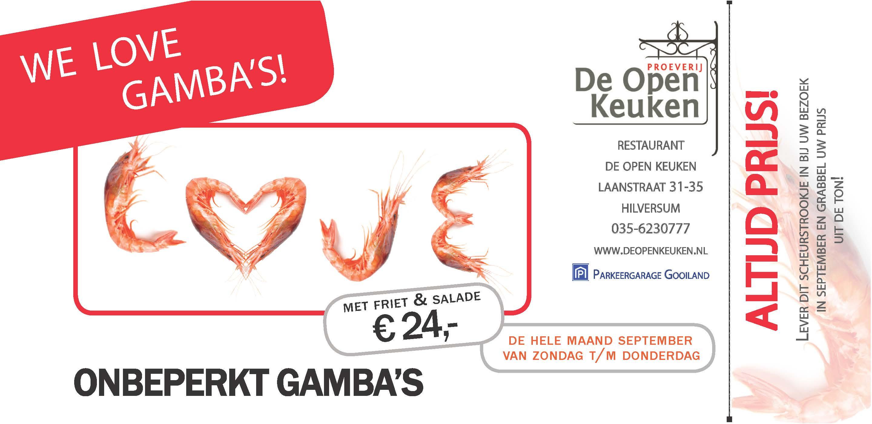 Gamba's flyer