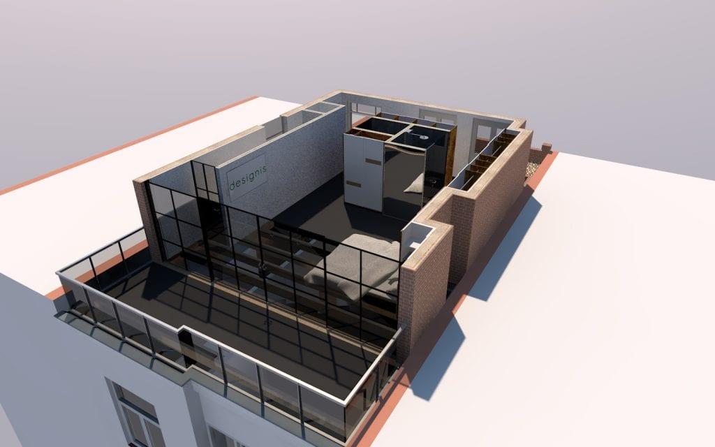 Opbouw Amsterdam Zuid ontwerp 5 J (perspectief)
