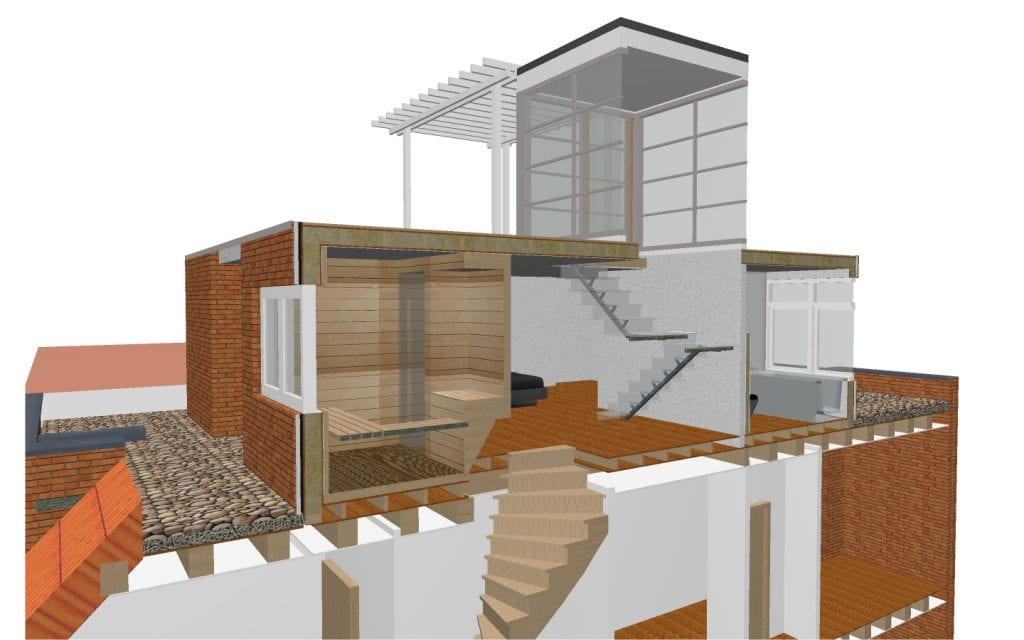Opbouw Amsterdam Zuid ontwerp 1 J (doorsnede)