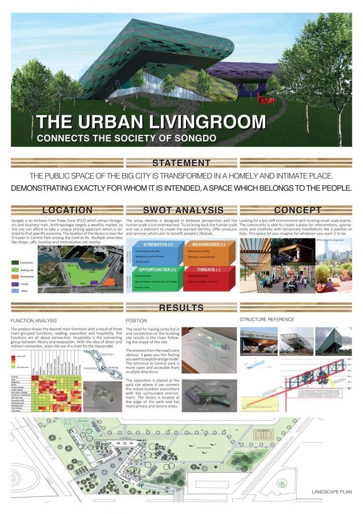 The Urban Livingroom (library) 1