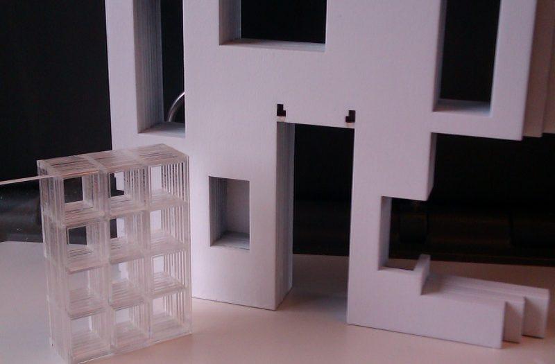 12 Maquette bouw proces