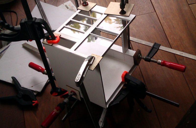 13 Maquette bouw proces