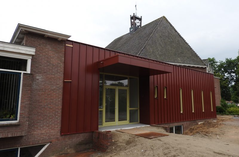 Nieuwe entree Valkenhof